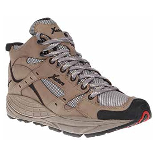 Xelero Hyperion Men's Comfort Therapeutic Extra Depth Hiking Shoe: Grey 9.0 X-Wide (4E) Lace
