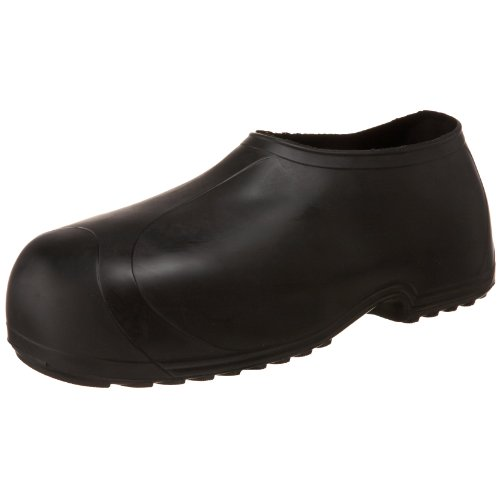 Tingley Men's High Top Work Rubber Stretch Overshoe,Black,XL(11-12.5 US Mens)