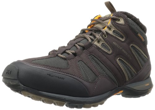 Helly Hansen Men's Razora Mid HT Shoe,Coffee Bean/Ebony/Black/Clementine,11.5 M US