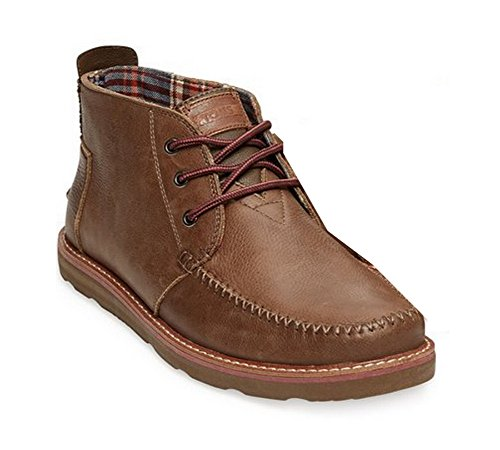 Toms Leather Men's Chukka Boots Chocolate 10002770 (SIZE: 8)