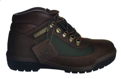 Timberland Men's Waterproof Field Boots Brown/Green Brown/Green 10025-8