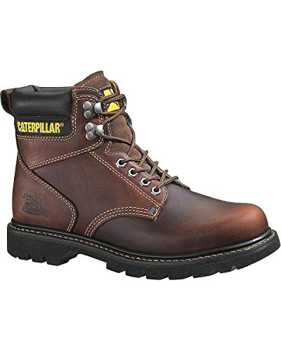 Caterpillar Men's 2nd Shift 6″ Plain Soft-Toe Boot