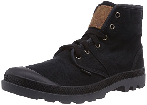 Palladium Men's Pallabrouse LC Chukka Boot, Black, 11 M US