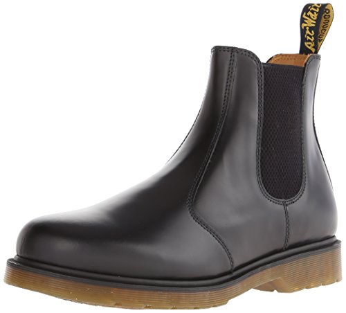 Dr. Martens 2976 Chelsea Boot,Black Smooth,6 UK (Women's 8 M US/Men's 7 M US)