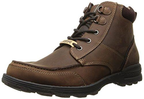 Dockers Men's Vonner Chukka Boot, Red/Brown, 10 M US