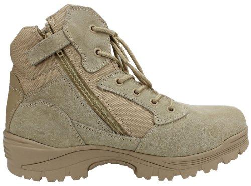6″ Ryno Gear Tactical Combat Boots Wide (Beige)