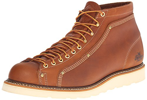 Thorogood Lace-To-Toe Roofer Work Boot, Tobacco, 12 D US