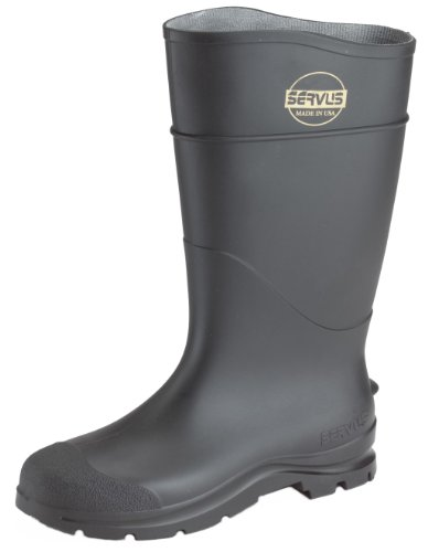 Boot Pvc Pln Toe 16in Black 12
