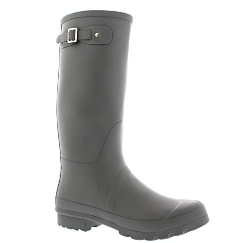 Mens Original Tall Plain Fishing Garden Rubber Waterproof Wellingtons – 11 – GRE44 BL0183