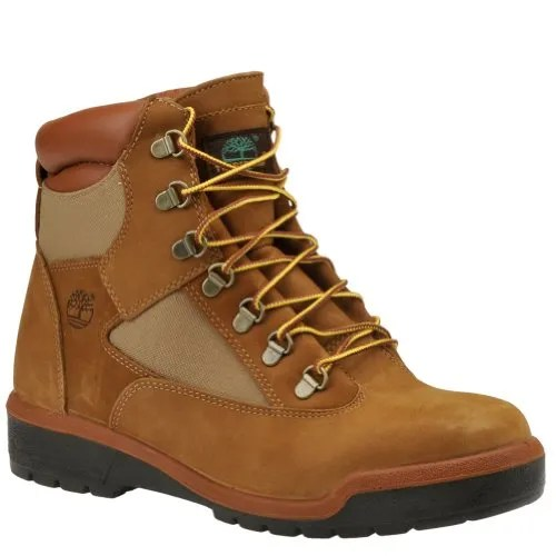 Timberland Mens Icon 6″ Field Boot Sesame Chicken Nubuck Majority Leather with Textile 11W