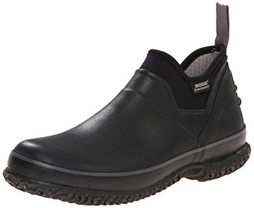 Bogs Men's Urban Farmer Waterproof Work Boot,Black,10 M US