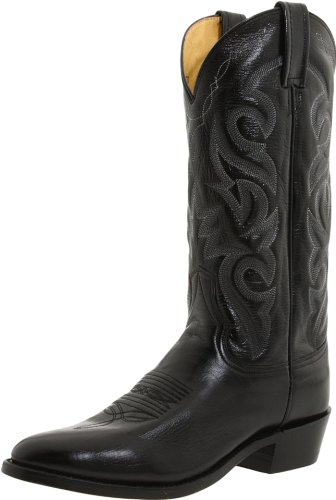 Dan Post Men's Milwaukee 13 inch R Toe Western Boot,Black,13 D US