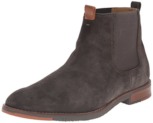 Hush Puppies Men's Thor Hamlin Chelsea Boot, Charcoal, 10.5 M US