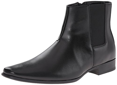 Calvin Klein Men's Brogan Boot, Black, 9.5 M US