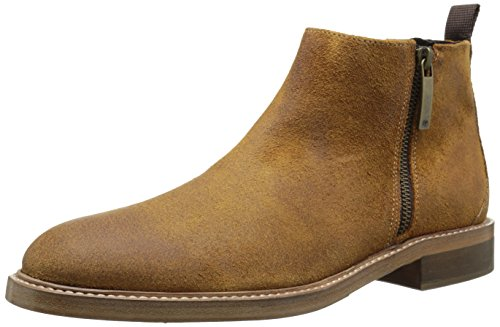 Donald J Pliner Men's Zeus Chelsea Boot, Saddle Treated Suede, 10 M US