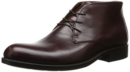 ECCO Men's Harold Plain Toe Chukka Boot, Rust, 47 EU/13-13.5 M US