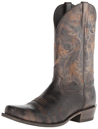 Ariat Men's Lawless Western Boot,  Rustic Black,  13 M US