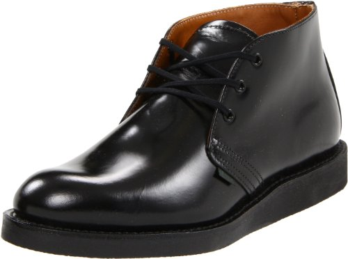 Red Wing Heritage Postman Chukka Boot,Black Chaparral,11.5 D(M) US