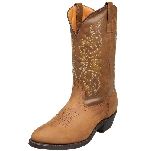 Laredo Men's Paris Western Boot,Tan Distressed,10.5 D US