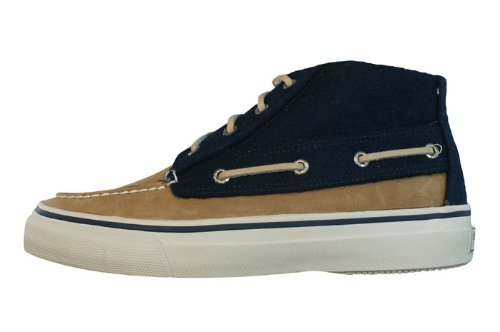 Sperry Top-Sider Men's Bahama Chukka Wool,Navy Wool,US 13 M