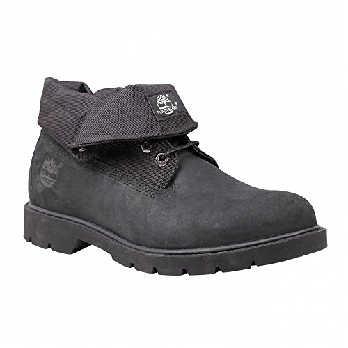 Timberland Men's Black Nubuck with Cordura EcoMade Fiber Icon Basic Roll-Top 10.5 D(M) US