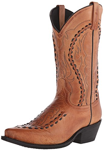 Laredo Men's Laramie Western Boot, Tan, 11 XW US