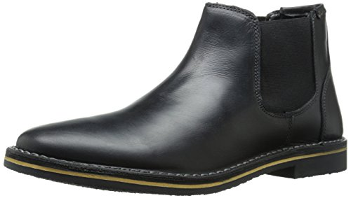 Steve Madden Men's Heynow Chelsea Boot, Black, 9.5 M US