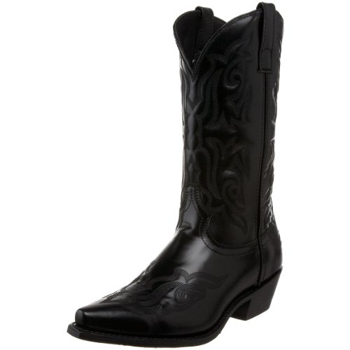 Laredo Men's Hawk Western Boot,Black,9.5 D US