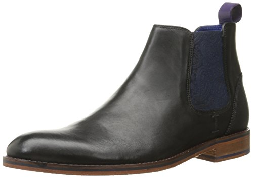Ted Baker Men's Camroon 2 Chelsea Boot, Black, 9.5 M US