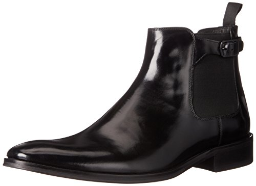 Kenneth Cole New York Men's Totaled Chelsea Boot, Black, 8.5 M US