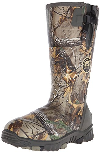 Irish Setter Men's 4881 Rutmaster 2.0 17″ 800-Gram Rubber Boot, Camo, 9 E US