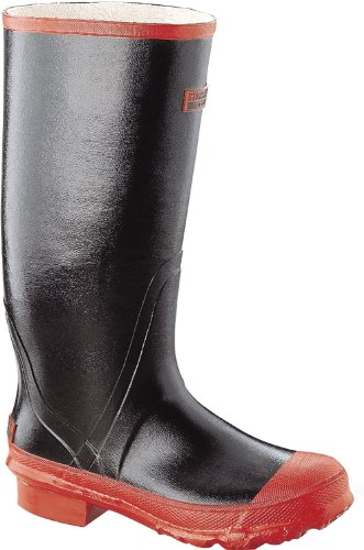 Honeywell Safety A383-10 Servus Swamp Men's Heavy-Duty Hi Boot, Size-10, Black/Rust
