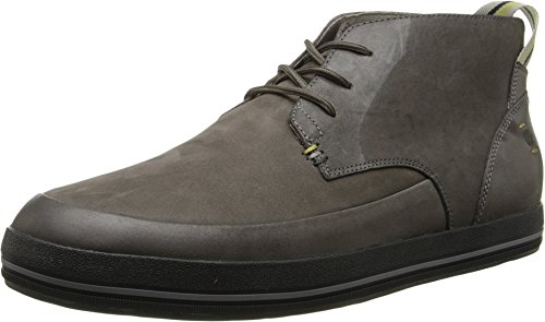 Tsubo Men's Adrik Smoked Grey Leather 10.5 M