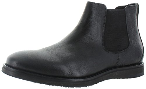 Kenneth Cole REACTION Men's Thank Me Later Chelsea Boot, Black, 10 M US