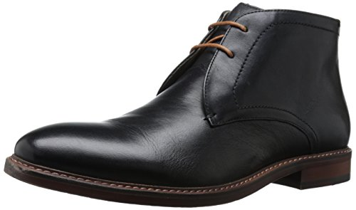 Steve Madden Men's Beckon Chukka Boot, Black, 10 M US