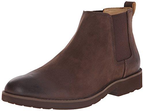 Sebago Men's Rutland Chelsea Boot, Medium Brown, 12 M US