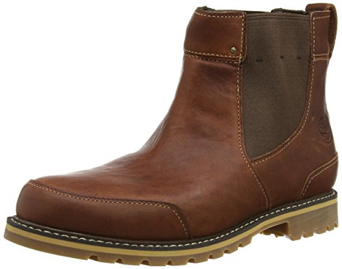 Timberland Men's Chestnut Ridge Chelsea Waterproof Boot, Brown Fog, 9.5 M US