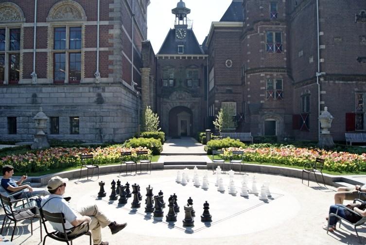 Rijksmuseum garden Amsterdam