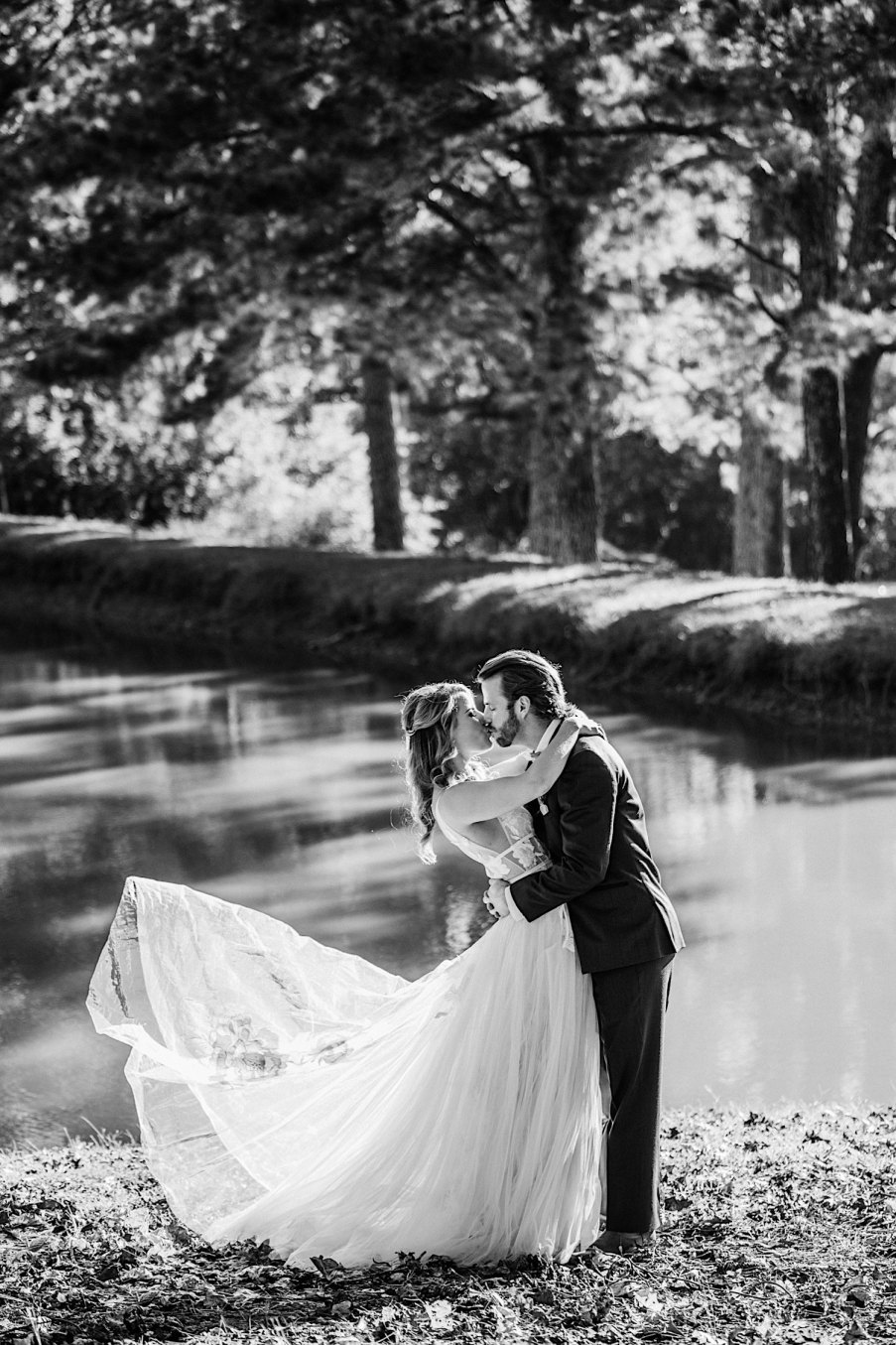 Bride and groom newly wed portraits wedding photography