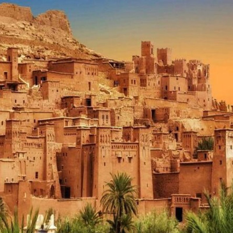 ait ben haddou desert tour Morocco