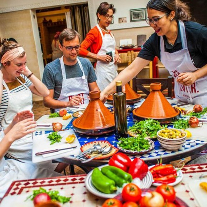 cooking classes in Marrakech