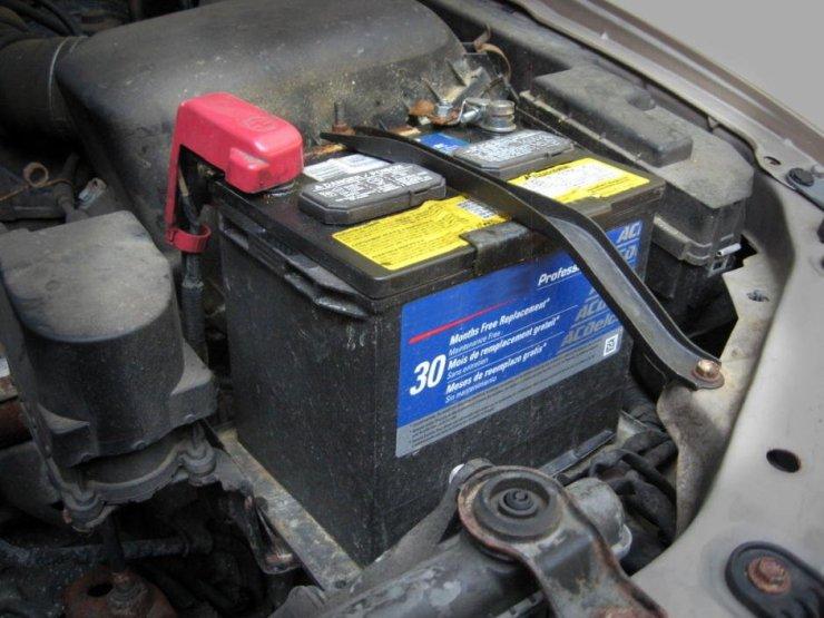 baterie masina