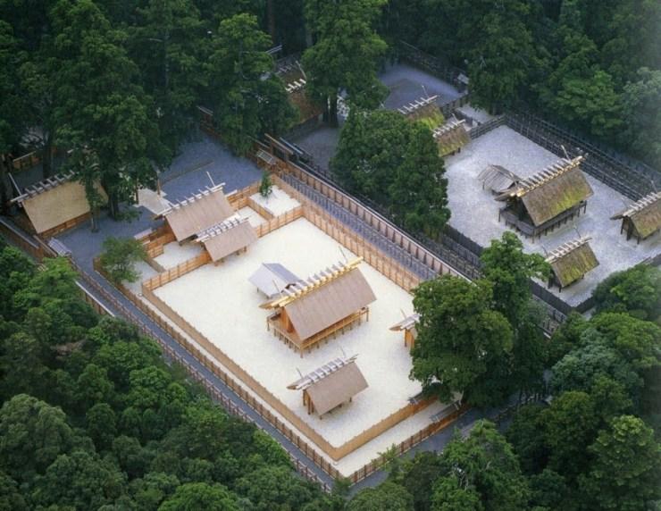 Marele altar Ise, Japonia