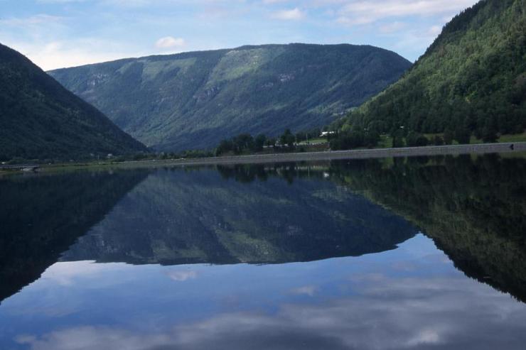 lacul Tinn Norvegia