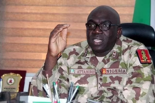 Major General I. Attahiru (Chief Of Army Staff)
