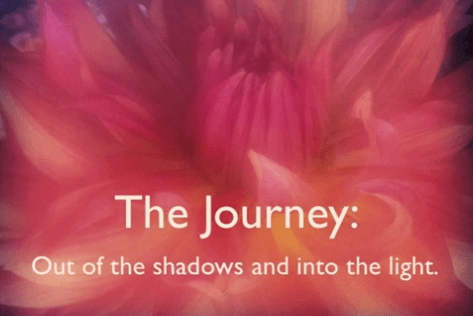 Julie Daley - The Journey: Out of the shadows and into the liht