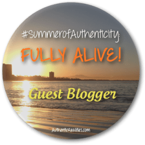 Summer of Authenticity - Guest Blogger Badge