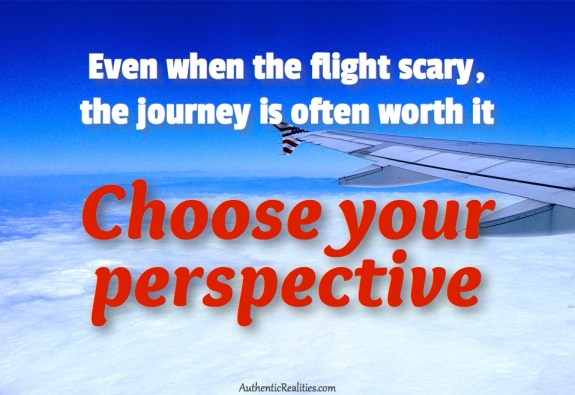 Scary Flights Have Something to Teach Us: Wisdom