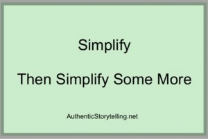 Plain English: Simplify Then Simplify Some More