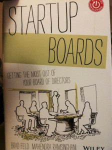 """Startup Boards"" by Brad Feld and Mahendra Ramsinghani"